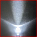 LEDหลอดใส สีขาว ขนาด5mm จำนวน5ดวง