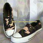รองเท้า converse Slip on ลายทหาร