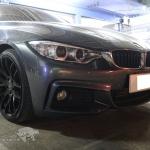 ชุดท่อไอเสีย BMW 420d F36 Gran Coupe