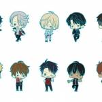 es Series nino Rubber Strap Collection - Yuri on Ice 10Pack BOX(Pre-order)