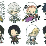 es Series nino Rubber Strap Collection - Touken Ranbu Unit 2 8Pack BOX(Pre-order)