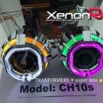 โปรเจ็คเตอร์ TRANSFORMERS วงแหวน LED [ หน้า เหลี่ยม