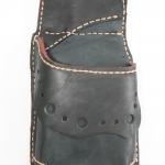 ซองใส่กระเป๋า หนังแท้ คาดเข็มขัด สีดำ สภาพดีมาก