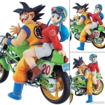 DESKTOP REAL McCOY 05 Dragon Ball Z - Son Goku & Chichi Complete Figure(Pre-order)