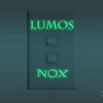 สติกเกอร์เรืองแสง Lumos&Nox