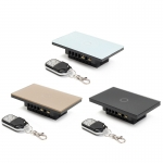 Touch switch สวิทช์ไฟสัมผัส รองรับรีโมทคอนโทรล สีดำ 1 ปุ่ม