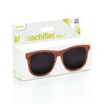 Mustachifier Wood Finish Sunglasses Age 0-2 แว่นกันแดดลายไม้