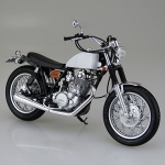 1/12 Bike No.11 Yamaha SR400S w/Custom Parts Plastic Model(Tentative Pre-order)
