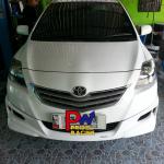 Toyota Vios ใส่ชุดท่อ Jsใบสั้น