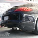 ผลงานติตดั้งชุดท่อไอเสีย Porsche Panamera 970 V6