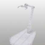 Tamashii Stage ACT.5 Action Support Type for Mechanic: Clear(Pre-order)