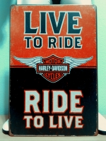 Live To Ride **M61