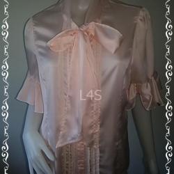 jp4401-เสื้อแฟชั่น สีโอรส and n closet อก 40 นิ้ว