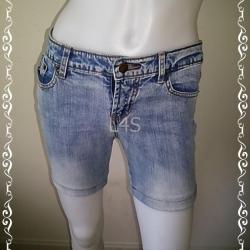 short0011-กางเกงยีนส์ขาสั้น emx jeans มือสอง เอว 28 นิ้ว