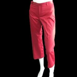 BNB0710-กางเกงผ้า สีแดง GAP เอว 26 นิ้ว