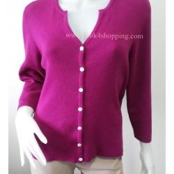 BNK0295--เสื้้อคลุมแฟชั่น นำเข้า สีชมพู WORTHINGTON อก 38-44 นิ้ว