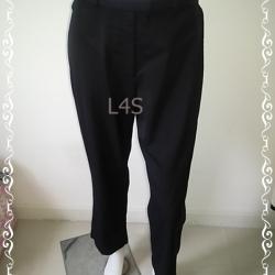 BNB1368-กางเกงผ้า สีดำ แบรนด์ Ann Taylor เอว 28 นิ้ว