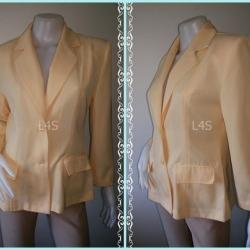 BNJ1004-เสื้อสูท สีเหลือง WACOL BLOUSE อก 36 นิ้ว