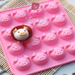 แม่พิมพ์ซิลิโคนทำขนม ลายลูกหมู Piggy