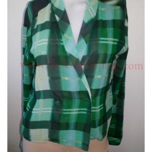BN3249--เสื้อแฟชั่น สวยๆ สีเขียว mossimo อก 35 นื่ว