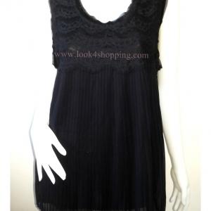 เสื้อแฟชั่น สีดำ ANN TAYLOR LOFT อก 40-42 นิ้ว