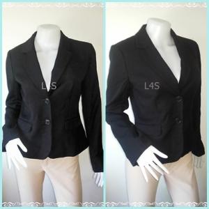 BN4154-เสื้อสูท สีดำ แบรนด์ ANN TAYLOR LOFT อก 35-36 นิ้ว