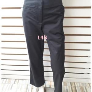กางเกงผ้า สีดำ แบรนด์ TOMMY เอว 26 นิ้ว