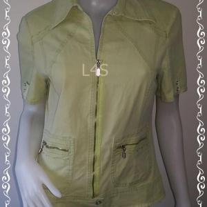 เสื้อแจ็คเก็ต สีเขียว blue de sym อก 36 นิ้ว