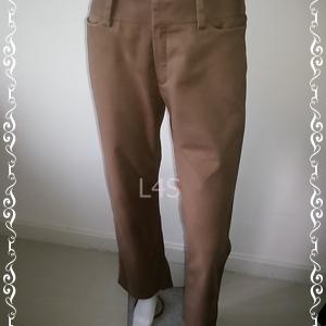 BNB1346 --กางเกงผ้า สีน้ำตาล next@step เอว 30 นิ้ว