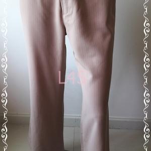 BNB1431-กางเกงผ้า สีน้าตาลอ่อน ESPADA เอว 29 นิ้ว