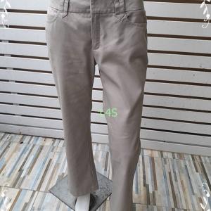 BNB1493--กางเกงผ้า สีกากี แบรนด์เนม NEXT&STEP เอว 30 นิ้ว