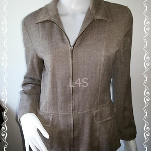 BN4206-เสื้อสูท สีน้ำตาล ANNA TAYLOR อก 36 นิ้ว