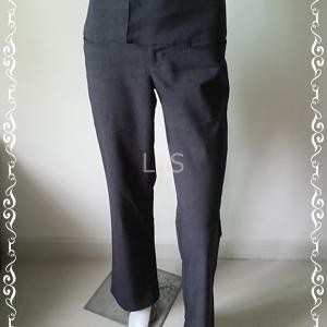 BNB1123-กางเกงผ้า สีเทาดำเข้ม TRACY EVANS LIMITED เอว 29 นิ้ว