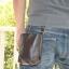 กระเป๋าหนังแท้ ถุงใส่ของ หนังออยล์ เงา สวย thumbnail 8