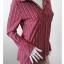 เสื้อเชื้ตมือสอง สีแดงลายทาง LIZ LANGE อก 35 ยืด 38 นิ้ว thumbnail 2