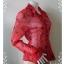 BN2323--เสื้อแฟชั่น สีแดง นำเข้า แบรนด์เนม NEW YORK & COMPANY อก 34-36 นิ้ว thumbnail 3