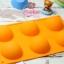 แม่พิมพ์ซิลิโคน ทำขนม ครึ่งวงกลมขนาด 7cm thumbnail 1