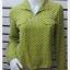 เสื้อเชิ้ต แฟชั่น สีเขียว แบรนด์ ITOKIN อก 35 นิ้ว thumbnail 1