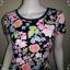 "BNS0253--เดรสแฟชั่น ผ้ายืดcotton ลายดอกไม้ H&M ""อก 30-33 นิ้ว"" thumbnail 4"
