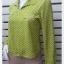 เสื้อเชิ้ต แฟชั่น สีเขียว แบรนด์ ITOKIN อก 35 นิ้ว thumbnail 2