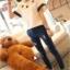 เสื้อยืด สีขาว แขนสั้น แต่งดาวสวยๆ thumbnail 3