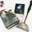 Harry Potter Wizard's Wand with Sticker Book: Lights Up! thumbnail 1