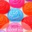 พิมพ์ซิลิโคน วุ้นเค้ก แฟนซีดอกกุหลาบ 7.5 cm 12 ชิ้น thumbnail 1