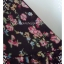 """Dress0151--เดรสแฟชั่น ชีฟอง นำเข้า สีน้ำตาลลายดอกไม้ """"อก 32-34 นิ้ว"""" thumbnail 5"""