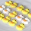 แม่พิมพ์ซิลิโคน พิมพ์วุ้น สำหรับทำขนม ลายเป็ด Ducky 15 ช่อง thumbnail 5