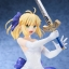 (Pre-order)Fate/staynight [Unlimited Blade Works] - Saber White Dress Ver. 1/8 Complete Figure thumbnail 1