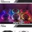 S-MAX **projector รูปทรง ครึ่ง วงกลม วงแหวน LED มาพร้อมกับ Super lens ขนาดใหญ่ 3 นิ้ว thumbnail 6