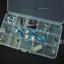 Electronics box กล่องอิเล็กทรอนิกส์ 36ช่อง ขนาด 175mmx270mmx45mm (กxยxส) thumbnail 2