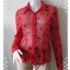 BN2323--เสื้อแฟชั่น สีแดง นำเข้า แบรนด์เนม NEW YORK & COMPANY อก 34-36 นิ้ว thumbnail 1