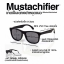 Mustachifier Wood Finish Sunglasses Age 3-6 แว่นกันแดดลายไม้ thumbnail 4